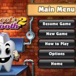 Pogo Games Android diente dulce 2: menú principal
