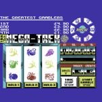 Fruit Machine Simulator 2 Commodore 64  juego está cargado. (Pantalla de título, especie de)