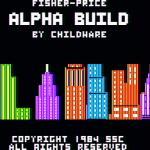 Alpha Build Apple II Pantalla de título