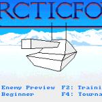 Arcticfox Amiga  opciones de juego