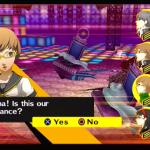 Shin Megami Tensei: Persona 4 PlayStation 2  cuando todos los enemigos son derribados, se puede atacar como un grupo