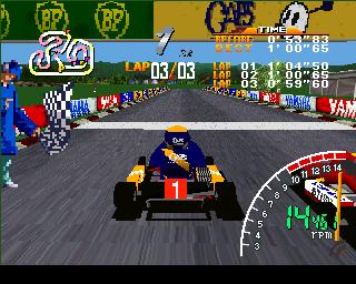 Ayrton Senna Kart Duel PlayStation  ¿Qué hay de competir contra ... el mejor?