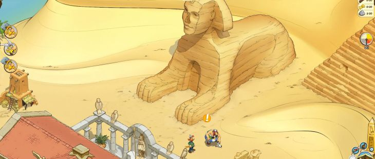 Asterix & Friends Browser  asterix and friends egypt