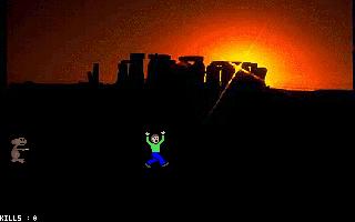 E.T.: No More Mr. Nice Alien DOS  El turista corre.