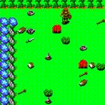 Dragon Crystal SEGA Master System  oh wow! ¡ Muchas cosas para conseguir! Y un montón de monstruos custodiándolo...
