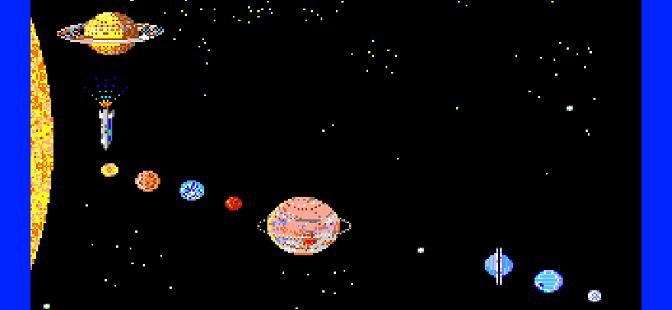 Stars & Planets Apple IIgs