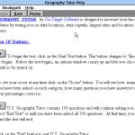 U.S. Geography Tutor Windows 3.x