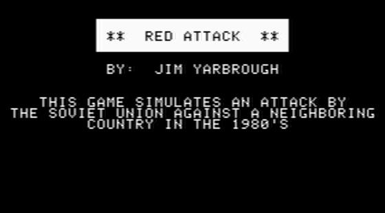 Computer Conflict Apple II