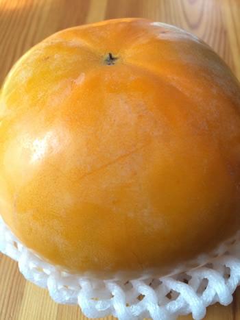 香川県綾川町産、大きな千疋の柿