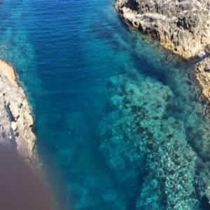 尖閣湾からの海