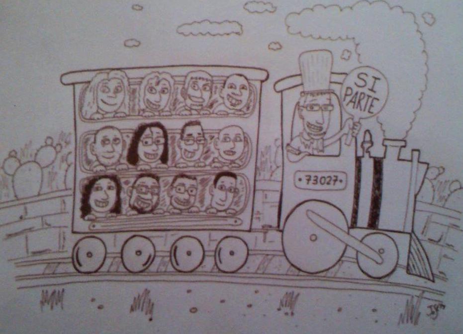 Locomotiva | Si parte!