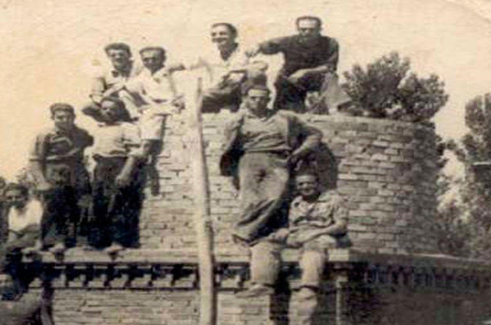 Así se construían las chimeneas industriales JOSE RIQUELME ALMAGRO PEPE EL RAMBLA RADIO MURCIA CADENA SER MARIA JOSE ALARCON