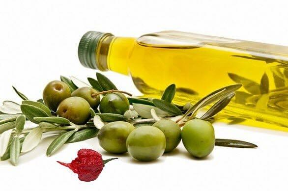 Olio Piccante bottiglia olive