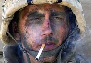 us-marine-smoking