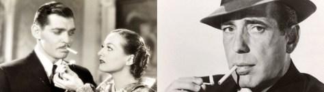 Gable and Bogart