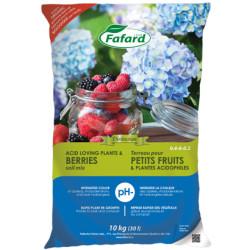 Terreau pour plantes acides et petits fruits
