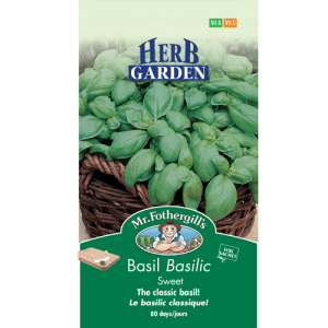 Basilic Sweet – Mr.Fothergill's
