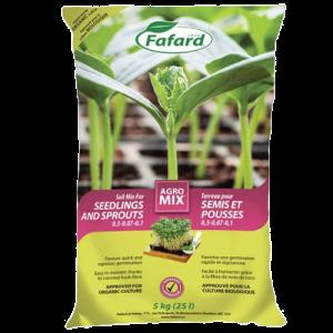 Terreau Pour Semis Et Pousses Agromix – Fafard