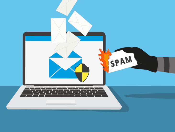 spam filtering in email inbox