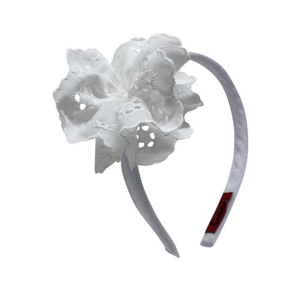 accesorios pelo niña color blanco
