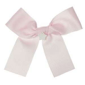 lazo pelo rosa claro