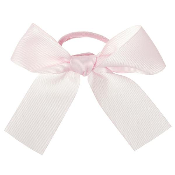 goma de pelo rosa claro