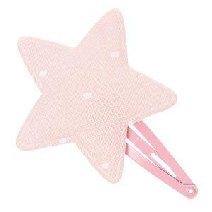 horquilla estrella rosa