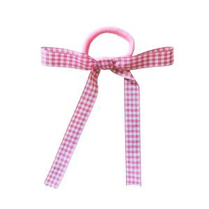 coletero lazo vichy rosa