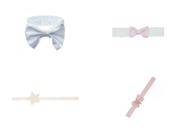 turbantes y diademas para bebes