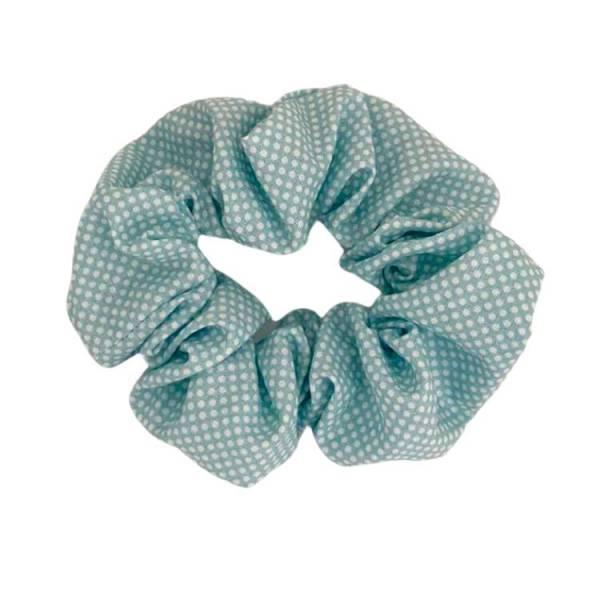 scrunchie topitos azul