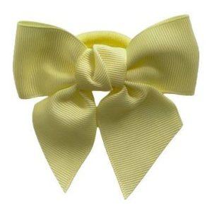 lazos de pelo para niñas amarillo