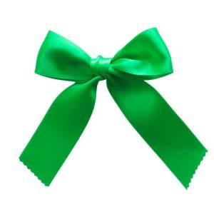 lazo de pelo para niñas verde fluor