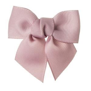 lazos para niñas con clip pico pato rosa