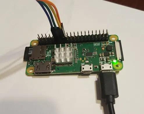 RPI motor GPIO wiring