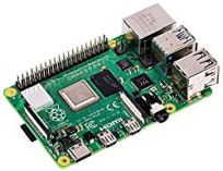 Raspberry PI 4 model B image