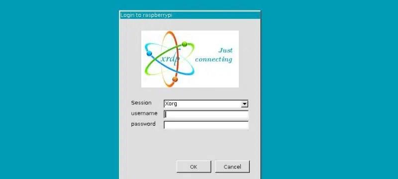 Raspbian Desktop RDP login
