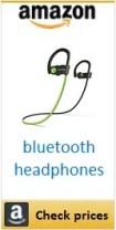 Amazon bluetooth headphones box