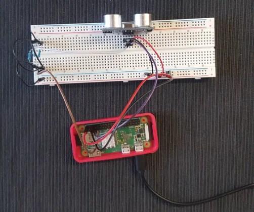 Raspberry PI HC-SR04 picture 2