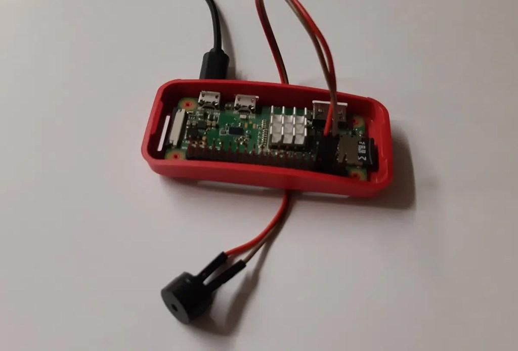 Raspberry PI passive buzzer picture