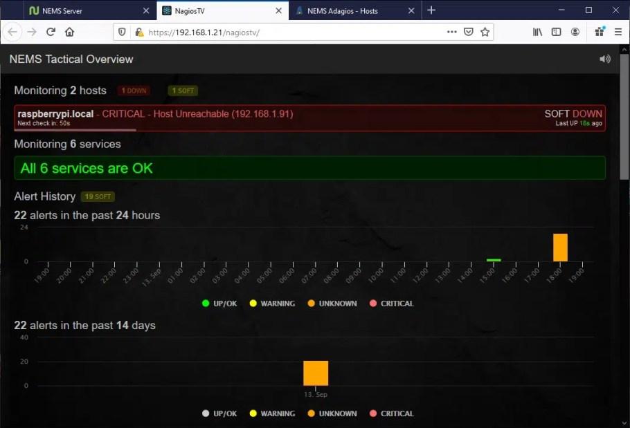 NEMS Tactical Overview 1st failure