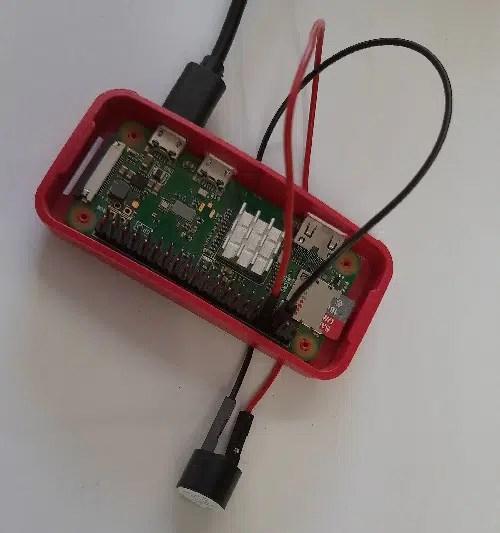 Raspberry pi Active Buzzer picture