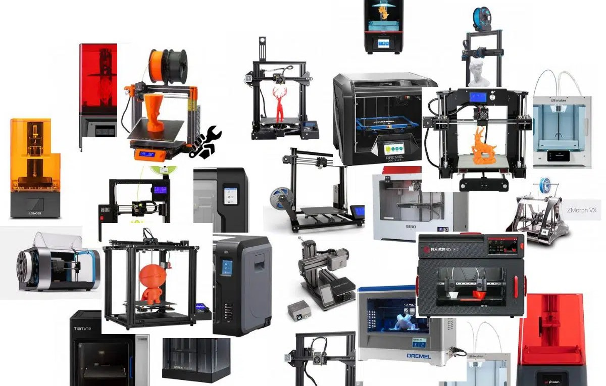 3d printer list featured image