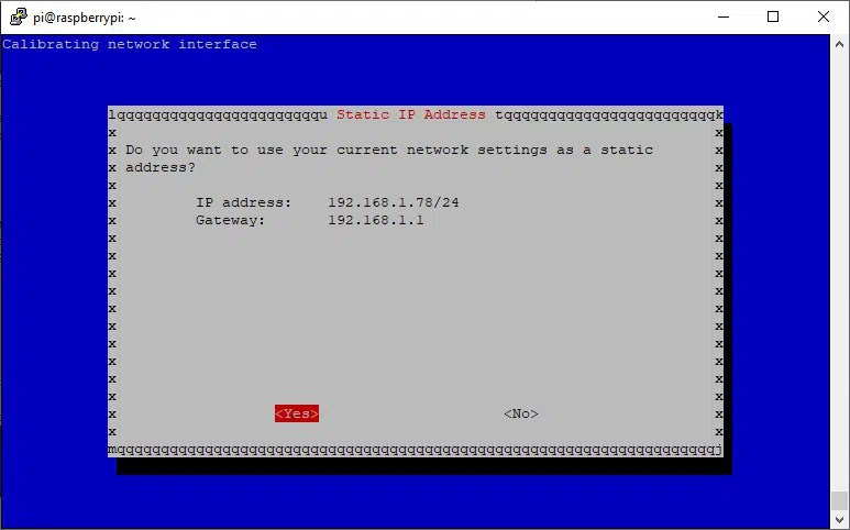 raspberry pi pivpn server setup 04