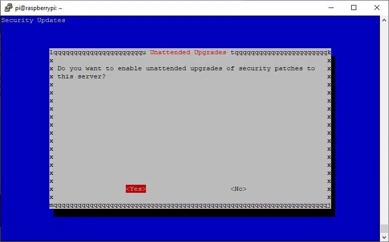 raspberry pi pivpn server setup 18