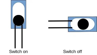 tilt ball switch working picture 2