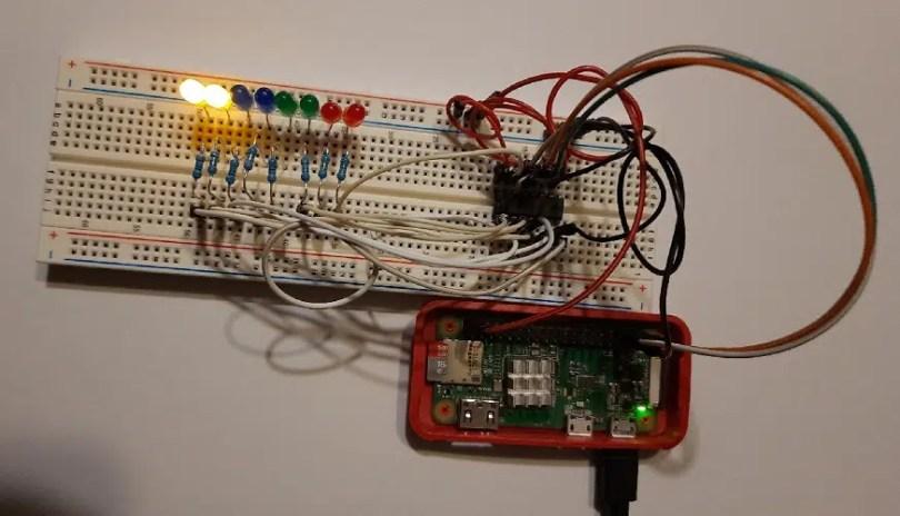 Raspberry PI Shift Register 00000011 picture