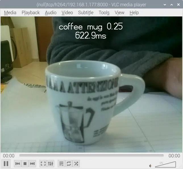 vlc tensorflow image classification example coffee mug
