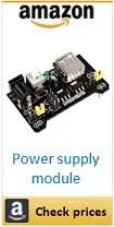 Amazon breadboard power supply module box