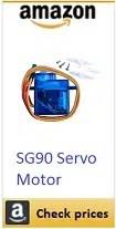 amazon sg90 servo motor box