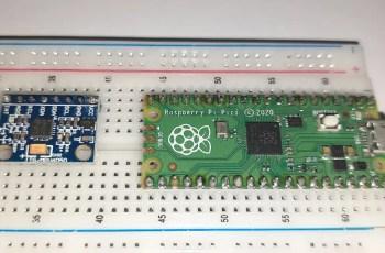 Raspberry PI Pico MPU6050 featured image
